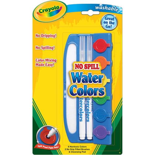 Crayola No-Drip Watercolors