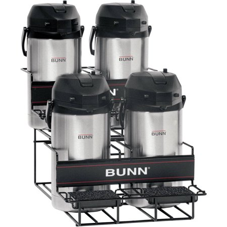 BUNN® 35728 Universal UNIV-4 APR Airpot Rack, 2 Upper, 2 Lower Airpot Racks 2 Position