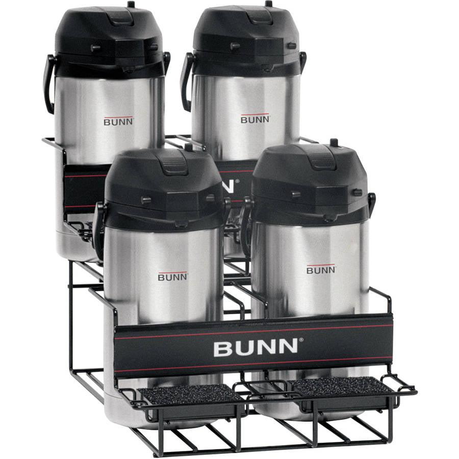 BUNN® 35728 Universal UNIV-4 APR Airpot Rack, 2 Upper, 2 Lower