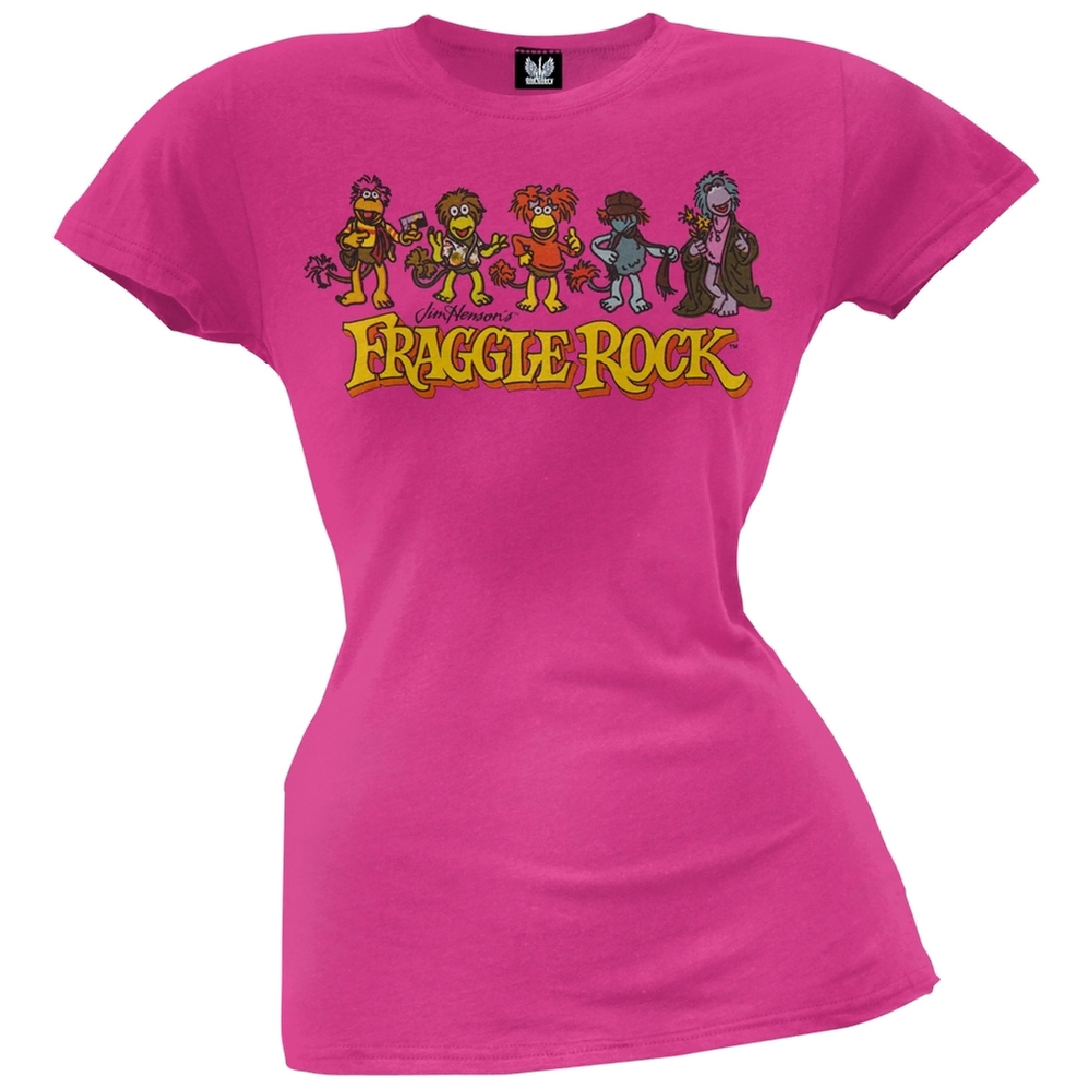 Fraggle Rock - Character Line-Up Juniors T-Shirt