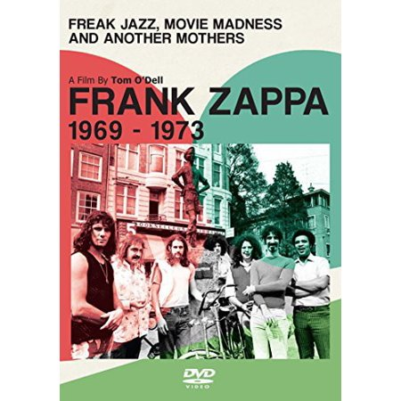 ZAPPA FRANK-FREAK JAZZ MOVIE MADNESS & ANOTHER MOTHERS (DVD) (DVD) - Frank Zappa Halloween Dvd