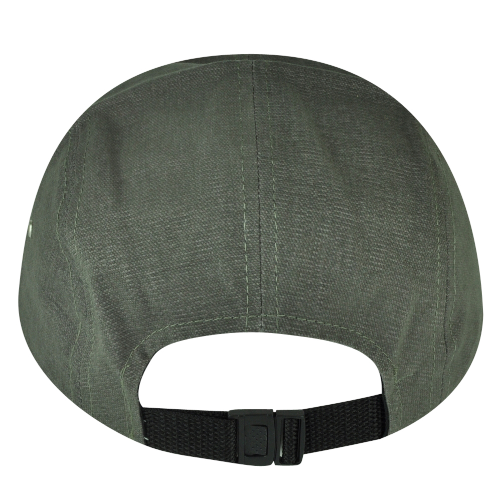 9c8ed630 American Needle Logo Clip Buckle Hat Cap Gray Relaxed Brand Flat Bill  Adjustable - Walmart.com