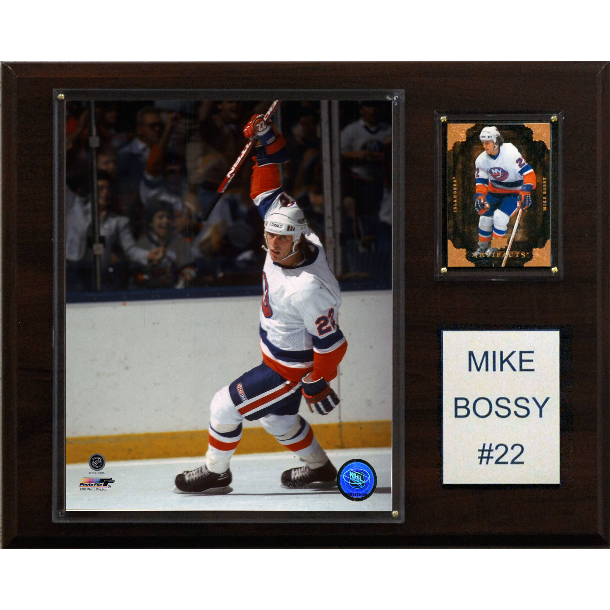 C&I Collectables NHL 12x15 Mike Bossy New York Islanders Player Plaque