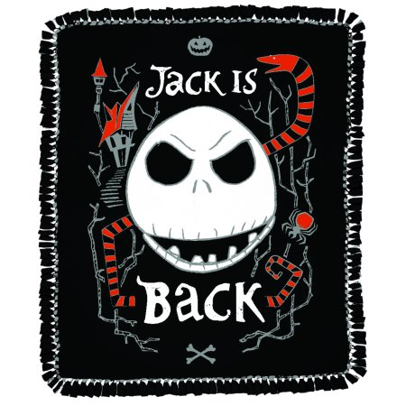 Disney Jack Is Back No Sew Fleece Fabric Throw Kit ()