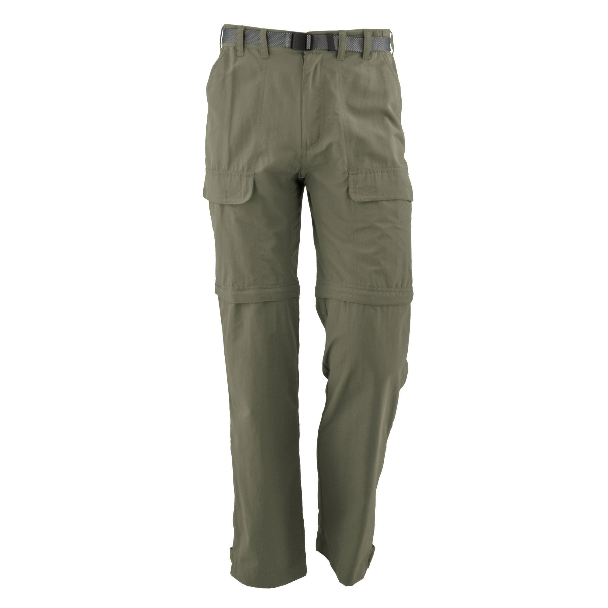 White Sierra Pt 29 inseam Convertible Pants Medium Vintage Indigo