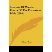 Analysis of Ward's Errata of the Protestant Bible (1808)
