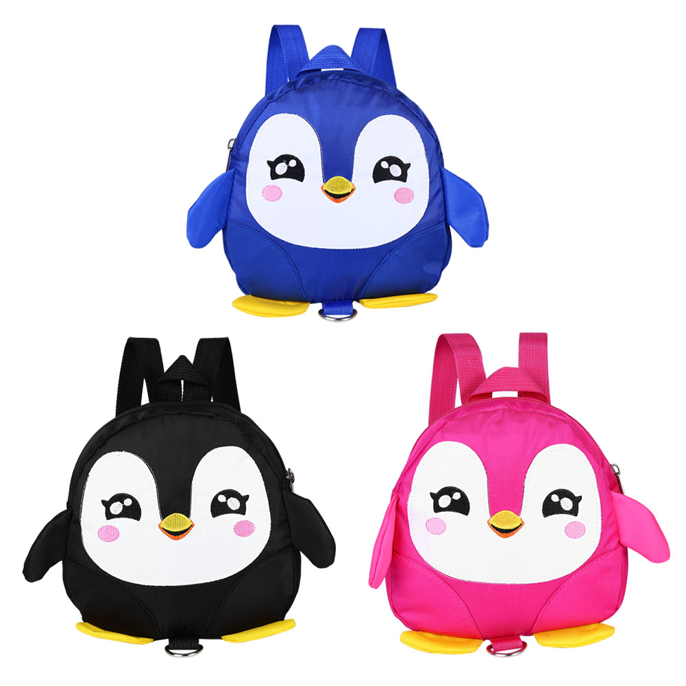 VBESTLIFE Cute Cartoon Penguin Baby Safety Harness Backpack Toddler Anti-lost Bag Children Schoolbag,Baby Safety Harness Backpack,Toddler Anti-lost Bag