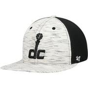 Washington Wizards '47 Downswing Captain Snapback Hat - Cream/Black - OSFA