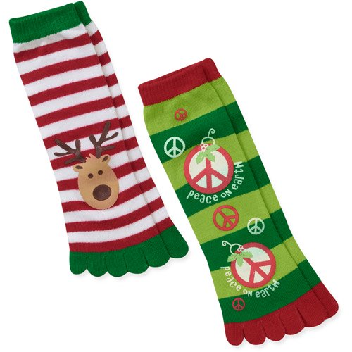 ornaments and reindeer 13 2 pack holida walmartcom - Walmart Christmas Socks