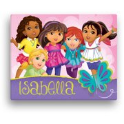 "Personalized Dora and Friends Butterfly Fun Canvas Wall Art, 16"" x 20"""