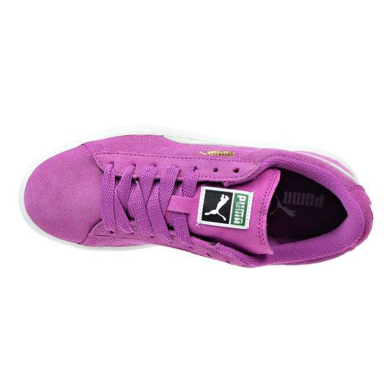 Puma Suede JR Pre School Shoes Vivid ViolaBay 355110 37 (11.5 M US)