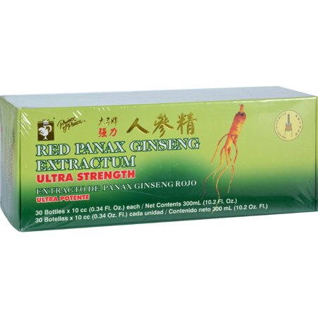 Prince Of Peace Rouge Panax ginseng Extractum Ultra Force - 30 Fioles