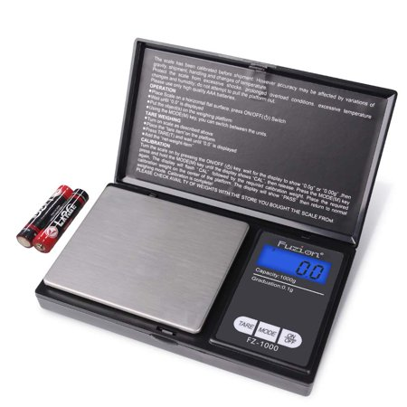 Digital Pocket Scale, High Accuracy within 1000g/0.1g, Personal Nutrition Scale with LCD Back-Lit Display, Portable travel scale for Food, Medicine, Jewelry Adhesive Backed Scales