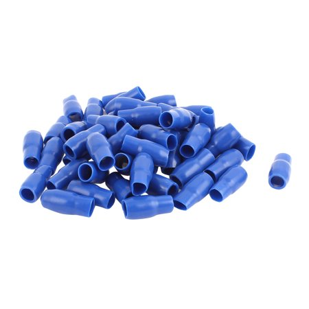 20 Pcs Blue PVC Crimp Terminal End Insulated Sleeves V-14 16mm2