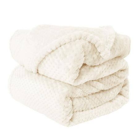 25b258f12f Soft Plush Fleece Bed Blanket Lightweight Flannel Blankets Twin Size -  Walmart.com