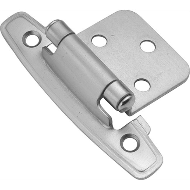 Hickory Hardware P296-SC Satin Silver Cloud Surface Self-Closing Hinge 2-Pack - image 1 of 1