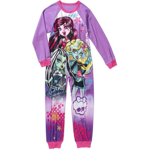 Monster High Girls' Licensed 1-Pc Sleeper