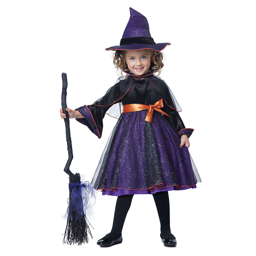 Toddler Hocus Pocus Witch Costume Size Large 4T-6T