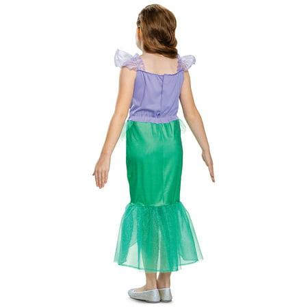 Brave Halloween Costumes Disney (Disney's Princesses Girls Classic Ariel Halloween Costume)