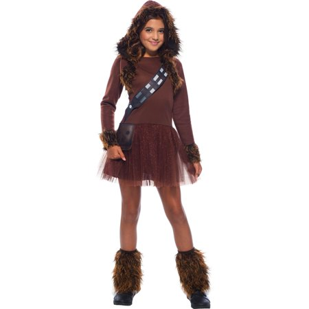 Star Wars Girls Classic Chewbacca Costume (Chewbacca Costume Rental)