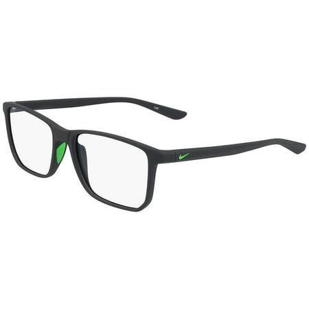 Nike NIKE 7034 Eyeglasses 003 Matte Anthracite/Rage Green Nike NIKE 7034 Eyeglasses 003 Matte Anthracite/Rage Green