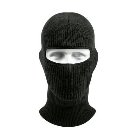 WintuckAcrylic One-Hole  Face Mask - Black