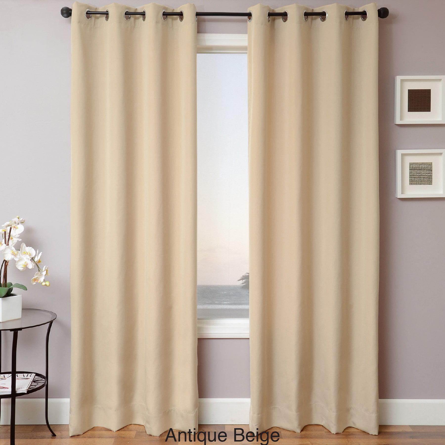 Softline  Sunbrella Indoor/Outdoor Grommet Top Curtain Panel