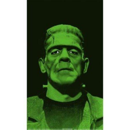 WOWindow Posters Frankenstein's Monster Scary Halloween Window Decoration 34.5