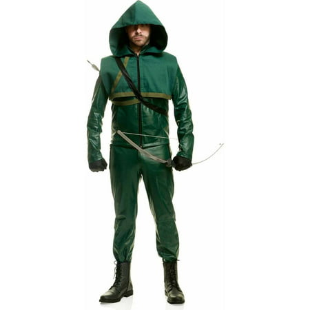 Premium Arrow Men's Adult Halloween - Green Arrow Halloween Costume Uk