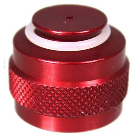 Paintball Tank Valve Protector / Thread Saver - Red ()