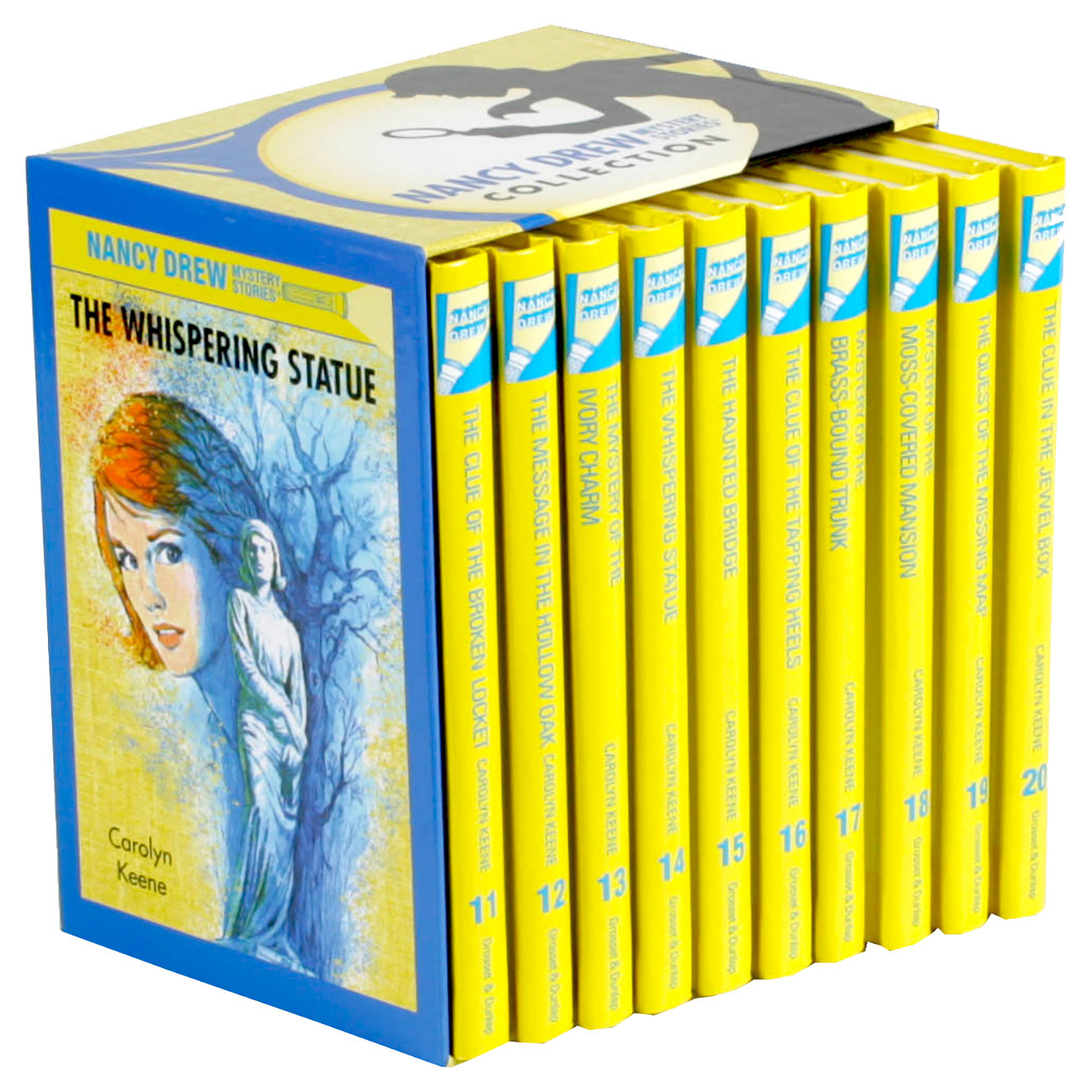 Nancy Drew Mystery Stories Collection: 11-20 Book Box Set...