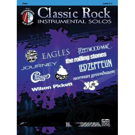 Classic Rock Instrumental Solos: Classic Rock Instrumental Solos: Flute: Level 2-3