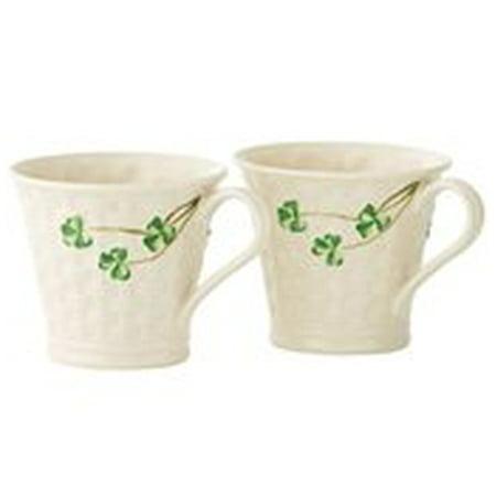 Belleek Set (Belleek Shamrock Set Of Two Mugs )