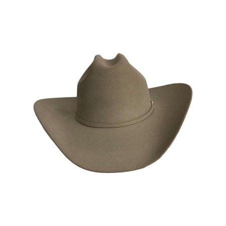 Stetson Cowboy Hat Mens Lariat Cattleman 7 3/8 Silver SFLRAT-75406170 ()