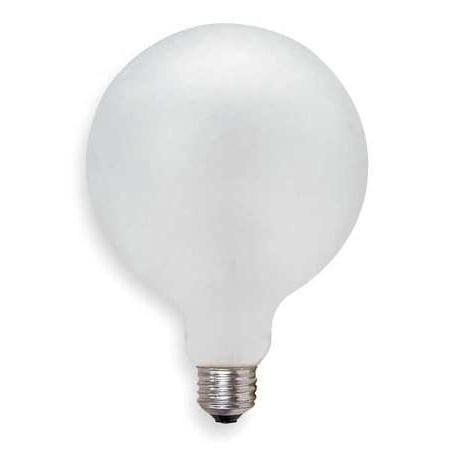 GE LIGHTING Incandescent Light Bulb,G40,150W 150G40/W