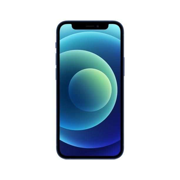 Straight Talk iPhone 12 Mini, 64GB Blue - Prepaid Smartphone