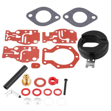 HURRISE Carb Rebuild Kit, Motorcycle Carburetor Repair,Carburetor Rebuild Kit Carb Repair Tools for Johnson / Evinrude 439073 0439073 - image 3 de 7