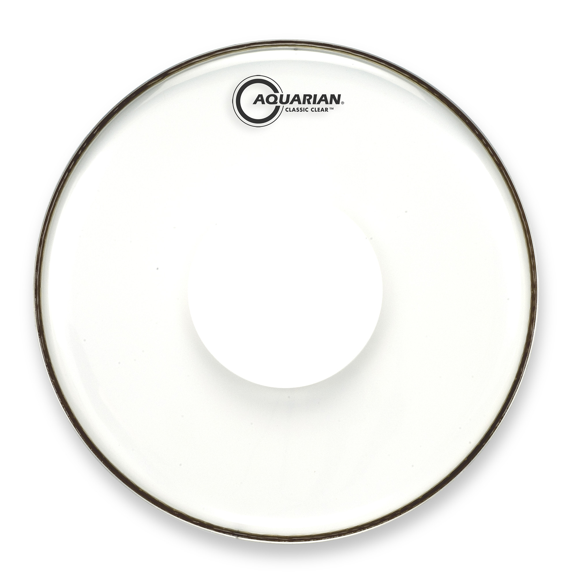 Classic Clear With Power Dot Snare Drum Head by Aquarian