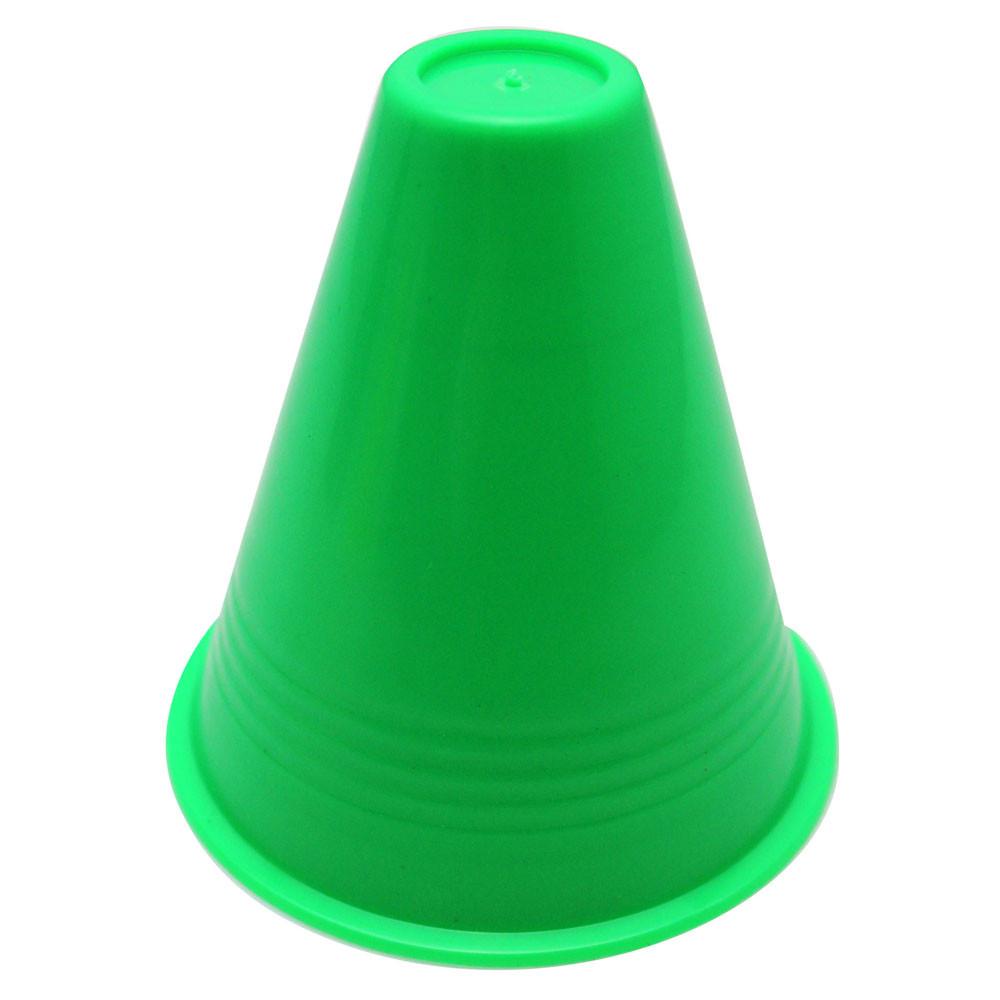 New amusing 10pcs inline skating Cup Speed Training Equipment Slalom Skates Cones Marker BU by