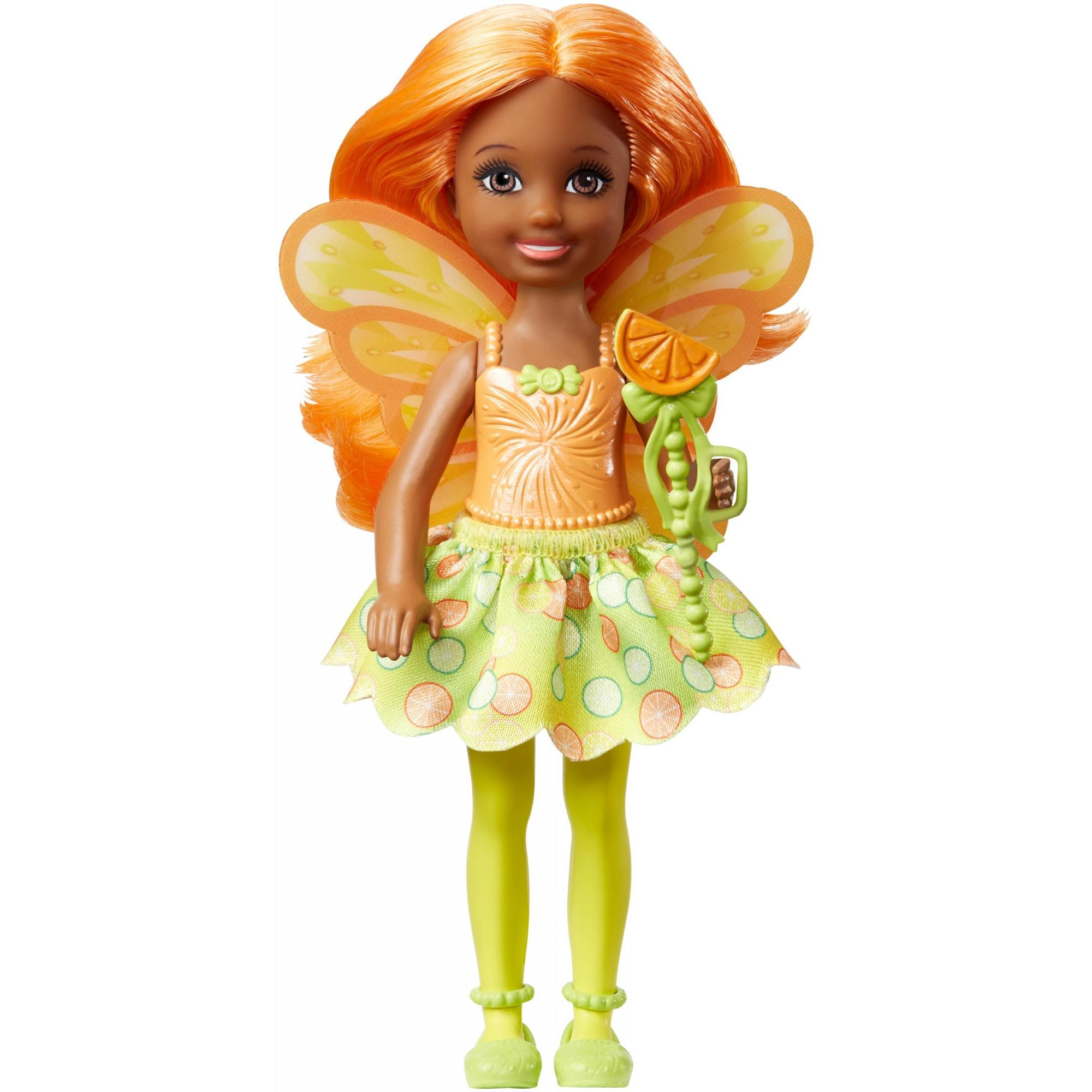 Barbie Dreamtopia Small Fairy Doll Citrus Theme by Mattel