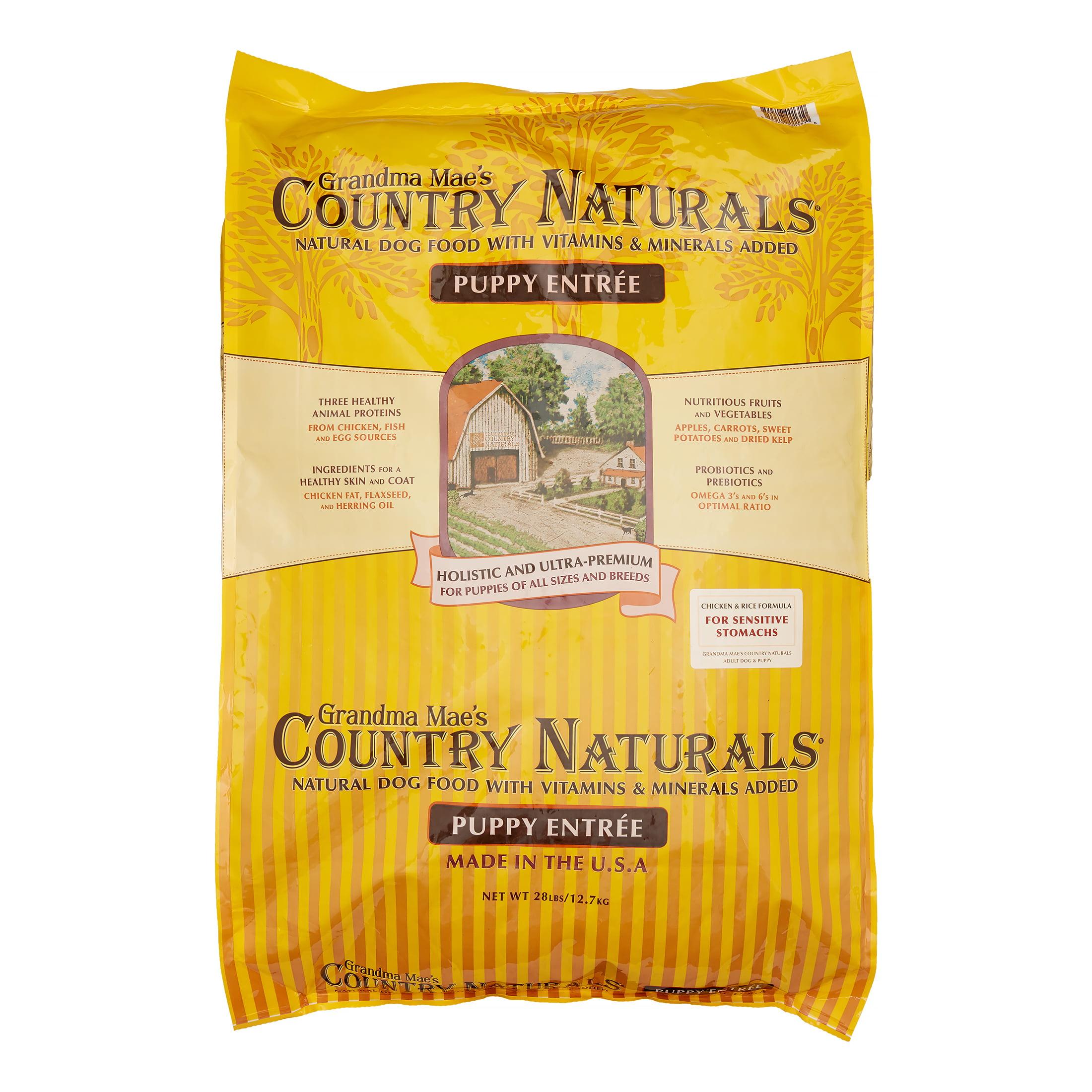 Grandma Mae's Country Naturals Premium All Naturals Puppy Food, 30 Lb by Mars Petcare