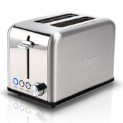 2-Slice Pop-Up Toaster, Extra Wide Long Slot Stainless Steel Toaster with Keep Warm, Defrost and Bagel Functions, Shade Selector, Toast Boost, Auto-Shutoff and Cancel Button