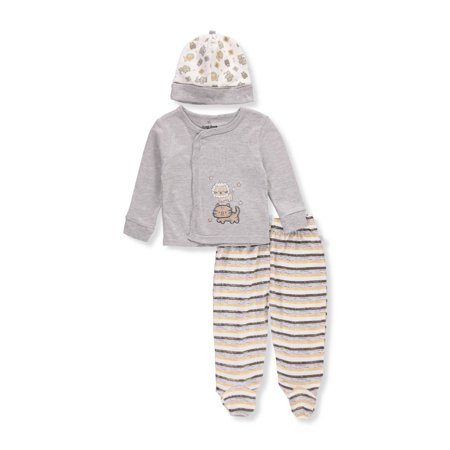 Duck Duck Goose Baby Boys' 3-Piece Layette Set](Duck Outfit)