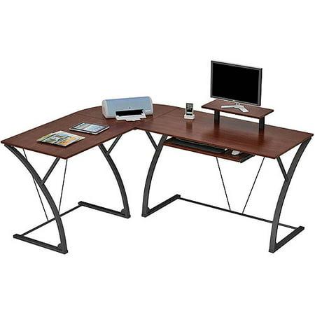 Edgewood  L  Computer Desk  Espresso Finish