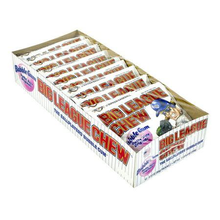 Big League Chew Original (2.12 oz., 12 pk.) (Big League Chew Gumballs)