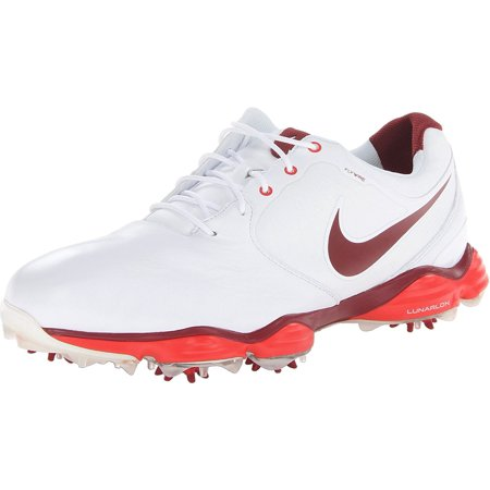 8d4e8bd92c44 Nike Men s Lunar Control II Golf Shoes - White Challenge Red Team Red -  Walmart.com