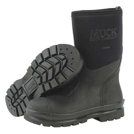 MUCK BOOTS CHM-000A/7 Boots,Rubber,14 In.,Black,7,PR