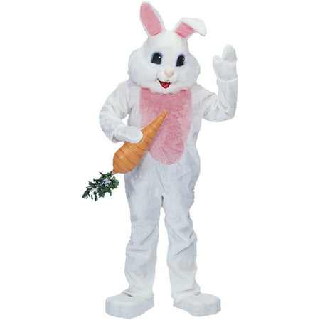 Premium White Rabbit Adult Halloween Costume (Rabbit Halloween Costumes)