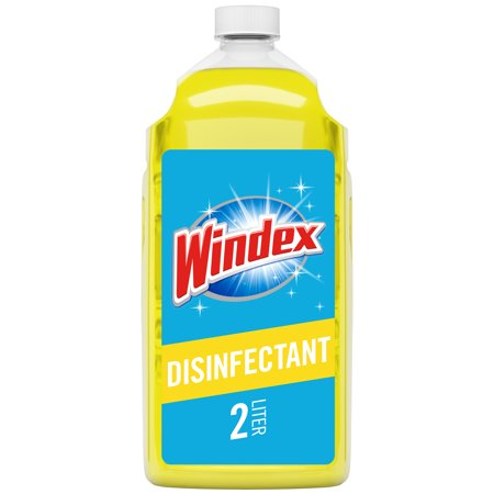 Windex Multi-Surface Disinfectant Cleaner Refill, Citrus, 2 (Germicidal Surface Disinfectant)