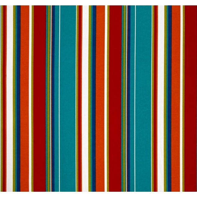 Jordan Manufacturing Outdoor Fabric By The Yard, Covert Stripe Fiesta